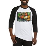 Salad Bar Exam Baseball Jersey