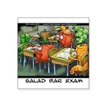 Salad Bar Exam Square Sticker 3