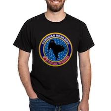 Karelian Bear Dog Black T-Shirt