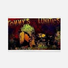 TOMMYS LUNATICS MERCH Rectangle Magnet