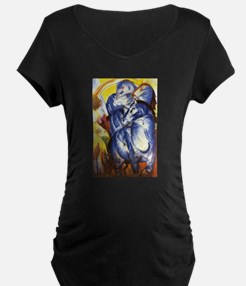 Franz Marc The Tower of Blue Horses T-Shirt