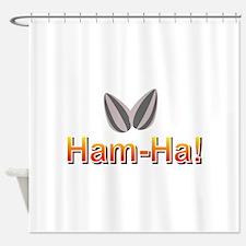 Ham-Ha Shower Curtain