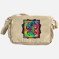 Tiedye Turtle Messenger Bag