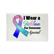 Special Thyroid Cancer Rectangle Magnet