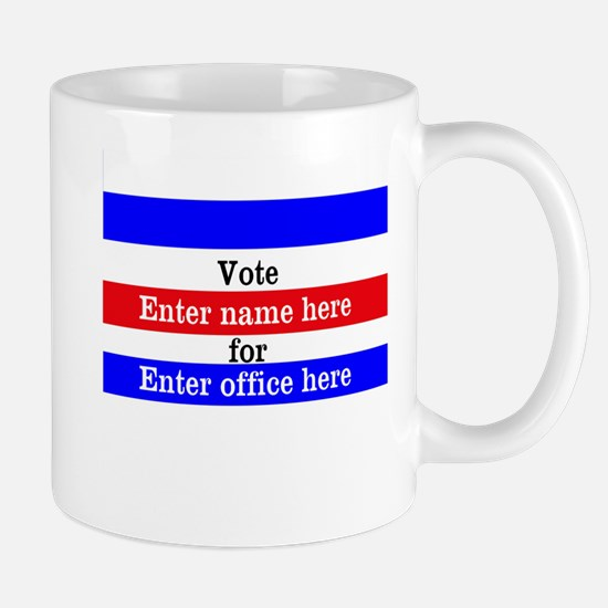 Striped Campaign Mug