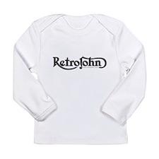 RetroJohn logo 10x10_apparel Long Sleeve T-Shirt