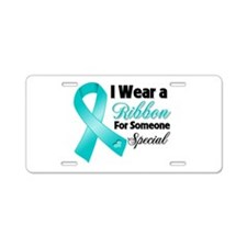 Special Peritoneal Cancer Aluminum License Plate