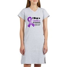 Special Pancreatic Cancer Women's Nightshirt