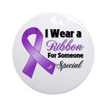 Special Pancreatic Cancer Ornament (Round)
