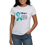 Special Ovarian Cancer Women's T-Shirt