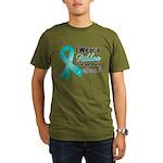 Special Ovarian Cancer Organic Men's T-Shirt (dark