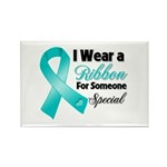 Special Ovarian Cancer Rectangle Magnet (10 pack)