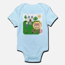 The Princess and the Prince Infant Bodysuit