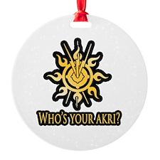 Akri Ornament