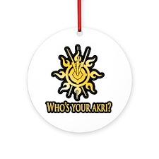 Akri Ornament (Round)