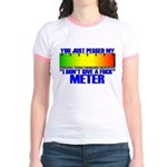 Don't Give A Fuck Meter Jr. Ringer T-Shirt