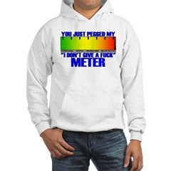 Don't Give A Fuck Meter Hoodie