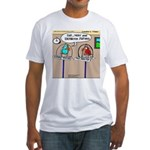 Parrot Bathroom Fixtures Fitted T-Shirt