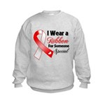 Special Oral Cancer Kids Sweatshirt