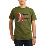 Special Oral Cancer Organic Men's T-Shirt (dark)