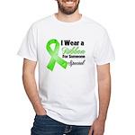Ribbon Special Lymphoma White T-Shirt
