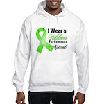Ribbon Special Lymphoma Hooded Sweatshirt