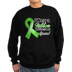 Ribbon Special Lymphoma Sweatshirt (dark)
