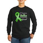Ribbon Special Lymphoma Long Sleeve Dark T-Shirt