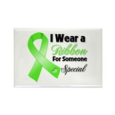 Ribbon Special Lymphoma Rectangle Magnet