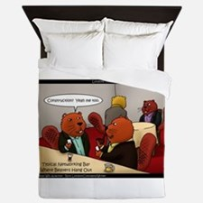 Beaver Business Queen Duvet