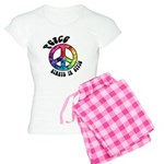 Peace Always in Style Women's Light Pajamas