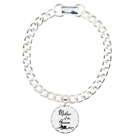 Mother Of The Groom Charm Bracelet, One Charm