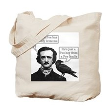 I'm Just A Poe Boy - Bohemian Rhapsody Tote Bag