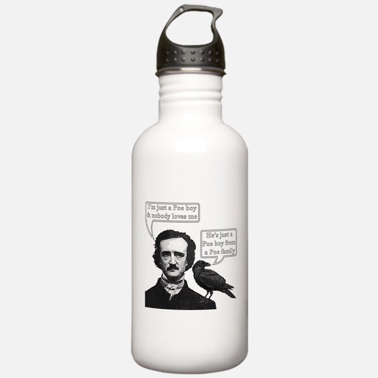 I'm Just A Poe Boy - Bohemian Rhapsody Water Bottle