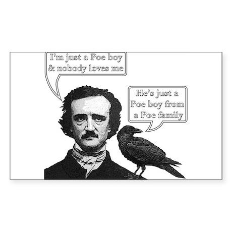 I'm Just A Poe Boy - Bohemian Rhapsody Sticker (Re