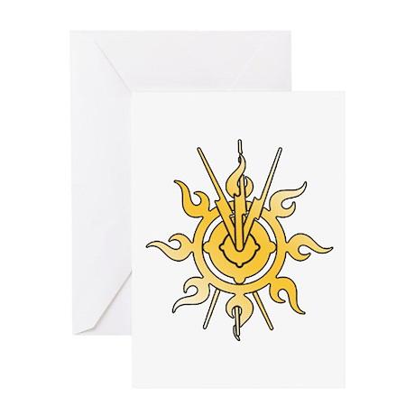 Acheron Symbol (TM) Greeting Card