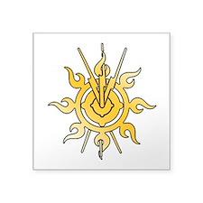 """Acheron Symbol (TM) Square Sticker 3"""" x 3&quo"""
