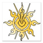Acheron Symbol (TM) Square Car Magnet 3