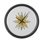 Acheron Symbol (TM) Large Wall Clock
