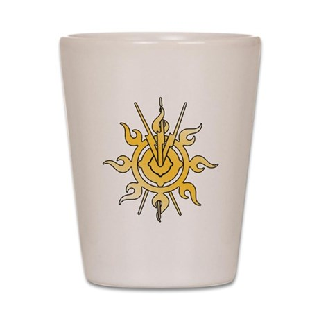Acheron Symbol (TM) Shot Glass