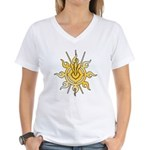 Acheron Symbol (TM) Women's V-Neck T-Shirt