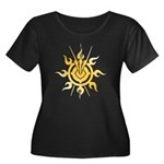 Acheron Symbol (TM) Women's Plus Size Scoop Neck D