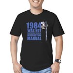 1984 Men's Fitted T-Shirt (dark)