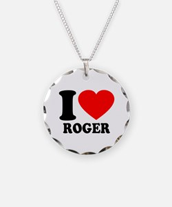 I (Heart) Roger Necklace