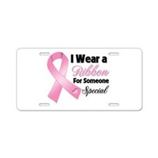 Special Breast Cancer Aluminum License Plate