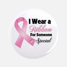 """Special Breast Cancer 3.5"""" Button (100 pack)"""