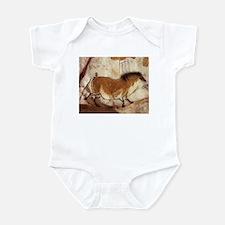 Lascaux Horse Painting Infant Bodysuit