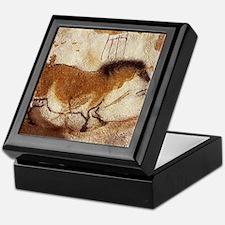 Lascaux Horse Painting Keepsake Box