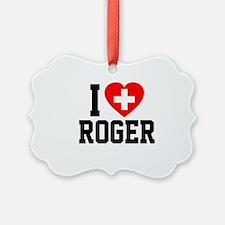 I Love Roger Ornament
