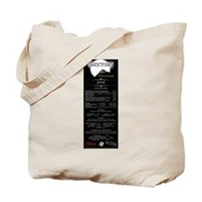 Sanctuary Menu Tote Bag